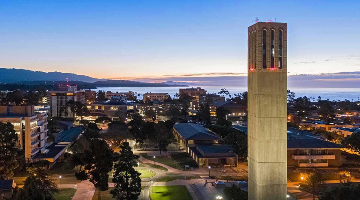 Photo of UCSB Storke Tower
